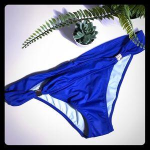 VS Blue Bikini Bottoms LG